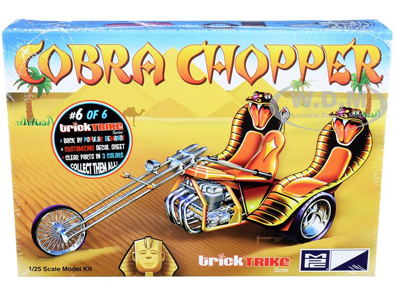Skill 2 Model Kit Cobra Chopper Trick Trikes Series 1/25 Scale Model MPC MPC896