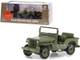 1950 Willys M38 Jeep Army Green MASH 1972 1983 TV Series 1/43 Diecast Model Car Greenlight 86594