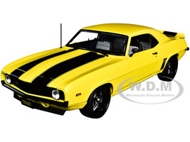 1969 Chevrolet Camaro Street Fighter Yellow Jacket Black Stripes Limited Edition 804 pieces Worldwide 1/18 Diecast Model Car ACME A1805719