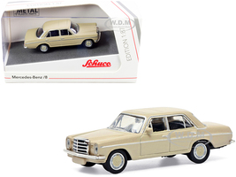 Mercedes Benz 8 Beige 1/87 HO Diecast Model Car Schuco 452659600