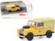 Land Rover 88 PTT Yellow Tan Top 1/87 HO Diecast Model Car Schuco 452662200