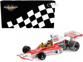 McLaren Ford M23 #5 Emerson Fittipaldi Texaco World Champion 1974 World Champions Collection 1/18 Diecast Model Car Minichamps 186740005