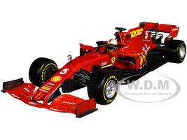 Ferrari SF1000 #5 Sebastian Vettel Tuscan GP Formula One F1 2020 Ferrari's 1000th Race 1/18 Diecast Model Car Bburago 16808