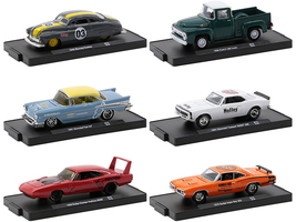 Drivers Set of 6 pieces Blister Packs Release 72 Limited Edition 7980 pieces Worldwide 1/64 Diecast Model Cars M2 Machines 11228-72