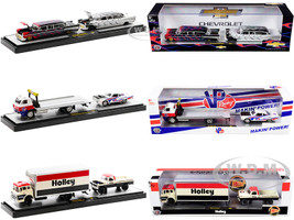 Auto Haulers Set of 3 Trucks Release 43 Limited Edition 7980 pieces Worldwide 1/64 Diecast Models M2 Machines 36000-43