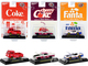 Coca Cola Fanta Set of 3 pieces New Release Limited Edition 6980 pieces Worldwide 1/64 Diecast Model Cars M2 Machines 52500-RC04