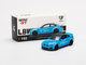 BMW M4 LB Works Baby Blue Carbon Top Limited Edition 1800 pieces Worldwide 1/64 Diecast Model Car True Scale Miniatures MGT00192
