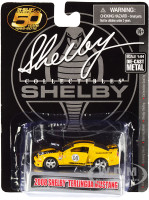 2008 Ford Shelby Mustang #08 Terlingua Orange Black Shelby American 50 Years 1962 2012 1/64 Diecast Model Car Shelby Collectibles SC753