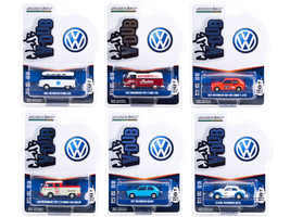 Club Vee V-Dub Set of 6 pieces Series 12 1/64 Diecast Model Cars Greenlight 36020