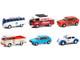 Club Vee V-Dub Set of 6 pieces Series 12 1/64 Diecast Model Cars Greenlight 36020