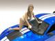 Jenny Bikini Car Wash Girl Figurine 1/18 Scale Models American Diorama 76263