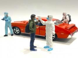 Hazmat Crew Figurine VI 1/18 Scale Models American Diorama 76272