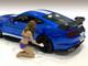 Alisa Bikini Car Wash Girl Figurine 1/24 Scale Models American Diorama 76365