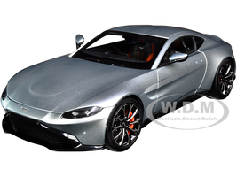2019 Aston Martin Vantage RHD Right Hand Drive Magnetic Silver 1/18 Model Car Autoart 70276