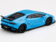 Lamborghini Huracan Ver. 1 LB Works Light Blue Limited Edition 4200 pieces Worldwide 1/64 Diecast Model Car True Scale Miniatures MGT00189