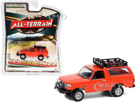 1995 Ford Bronco Sport Off-Road Parts Orange All Terrain Series 11 1/64 Diecast Model Car Greenlight 35190 D