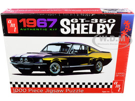 Jigsaw Puzzle 1967 Ford Mustang Shelby GT350 1000 piece AMT AWAC009-SHELBY