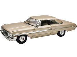 1964 Ford Galaxie 500 XL Hardtop Chantilly Beige 1/18 Diecast Model Car Sunstar 1436