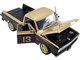 1967 Chevrolet C10 Pickup Shop Truck #13 Smokey Yunick Gold Black Limited Edition 612 pieces Worldwide 1/18 Diecast Model Car ACME A1807212