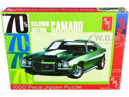 Jigsaw Puzzle 1970 1/2 Baldwin Motion Chevrolet Camaro MODEL BOX PUZZLE 1000 piece AMT AWAC009-BALDWIN
