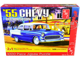 Jigsaw Puzzle 1955 Chevrolet Bel Air Sedan MODEL BOX PUZZLE 1000 piece AMT AWAC009-BELAIR