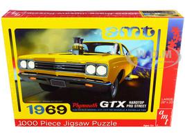 Jigsaw Puzzle 1969 Plymouth GTX Hardtop Pro Street MODEL BOX PUZZLE 1000 piece AMT AWAC009-GTX