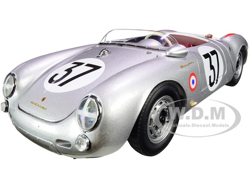 Porsche 550 A Spyder #37 Helmut Polensky Richard von Frankenberg 24 Hours Le Mans 1955 Limited Edition 1000 pieces Worldwide 1/18 Diecast Model Car Schuco 450033400