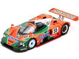 Mazda 787 B #55 Volker Weidler Johnny Herbert Bertrand Gachot Winner 24H Le Mans 1991 1/18 Model Car Spark 18LM91