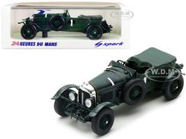 Bentley Speed Six RHD Right Hand Drive #1 Woolf Barnato Henry Tim Birkin Winner 24H Le Mans 1929 1/43 Model Car Spark 43LM29