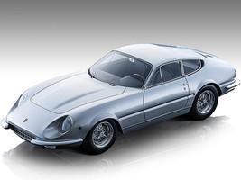 1967 Ferrari 365 GTB/4 Daytona Prototipo Silver Metallic Mythos Series Limited Edition 80 pieces Worldwide 1/18 Model Car Tecnomodel TM18-128B