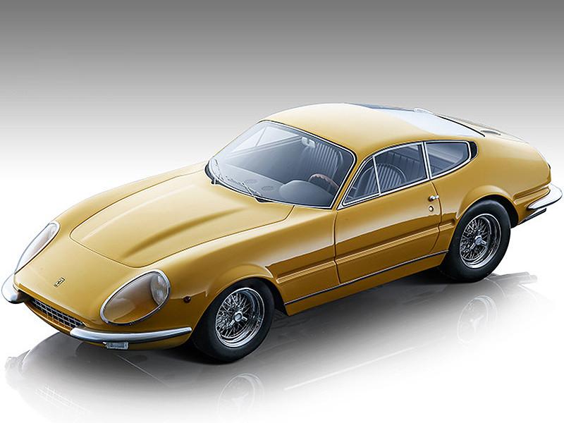 1967 Ferrari 365 GTB/4 Daytona Prototipo Modena Yellow Mythos Series Limited Edition 60 pieces Worldwide 1/18 Model Car Tecnomodel TM18-128C