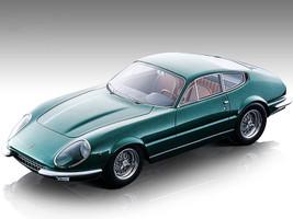 1967 Ferrari 365 GTB/4 Daytona Prototipo Green Metallic Mythos Series Limited Edition 55 pieces Worldwide 1/18 Model Car Tecnomodel TM18-128D