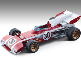 Ferrari 312 B2 #30 Clay Regazzoni Formula One F1 Belgium GP 1972 Mythos Series Limited Edition 170 pieces Worldwide 1/18 Model Car Tecnomodel TM18-194A