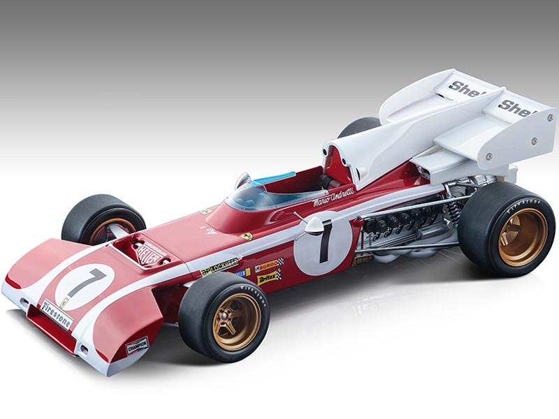 Ferrari 312 B2 #7 Mario Andretti Formula One F1 South Africa GP 1972 Mythos Series Limited Edition 190 pieces Worldwide 1/18 Model Car Tecnomodel TM18-194B
