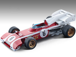 Ferrari 312 B2 #6 Clay Regazzoni Formula One F1 South Africa GP 1972 Mythos Series Limited Edition 155 pieces Worldwide 1/18 Model Car Tecnomodel TM18-194C