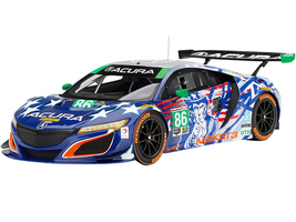 Acura NSX GT3 #86 Uncle Sam IMSA Championship Watkins Glen 2017 1/18 Model Car Top Speed TS0270