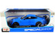 2020 Ford Mustang Shelby GT500 Light Blue Special Edition 1/18 Diecast Model Car Maisto 31452