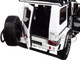 Mercedes Benz Brabus 550 Adventure G-Class 4x4 White Black Top 1/18 Diecast Model Car Almost Real 860305
