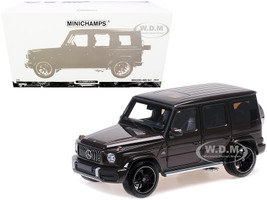 2018 Mercedes-AMG G63 Dark Red Metallic Limited Edition 300 pieces Worldwide 1/18 Diecast Model Car Minichamps 110037060