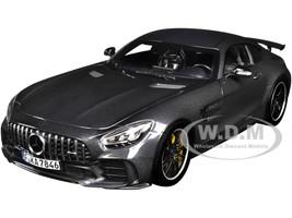 2019 Mercedes-AMG GT R Dark Gray Metallic 1/18 Diecast Model Car Norev 183742