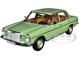 1973 Mercedes Benz 200 Light Green 1/18 Diecast Model Car Norev 183774