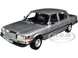 1976 Mercedes Benz 450 SEL 6.9 Silver Metallic 1/18 Diecast Model Car Norev 183785