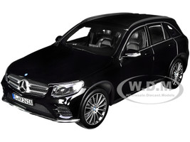 2015 Mercedes Benz GLC Black 1/18 Diecast Model Car Norev 183791