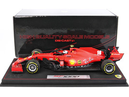 Ferrari SF1000 #16 Charles Leclerc F1 Formula One Austrian GP Red Bull Ring 2020 DISPLAY CASE Limited Edition 500 pieces Worldwide 1/18 Diecast Model Car BBR BBR201816DIE