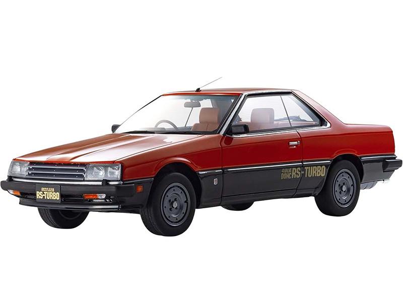 Nissan Skyline 2000 Turbo RS KDR30 RHD Right Hand Drive Red Black 1/18 Model Car Kyosho KSR18051R