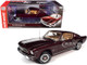 1965 Ford Mustang 2+2 Vintage Burgundy Metallic American Muscle 30th Anniversary 1/18 Diecast Model Car Autoworld AMM1248