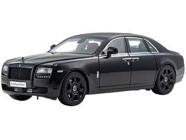 Rolls Royce Ghost Diamond Black 1/18 Diecast Model Car Kyosho 08802 DBK