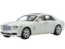 Rolls Royce Ghost English White 1/18 Diecast Model Car Kyosho 08802 EW