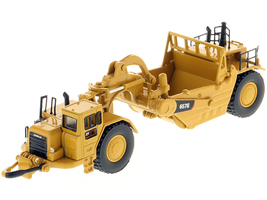 CAT Caterpillar 657G Wheeled Scraper Tractor High Line Series 1/125 Diecast Model Diecast Masters 85542