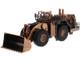 CAT Caterpillar 994K Wheel Loader Copper Finish Elite Series 1/125 Diecast Model Diecast Masters 85672